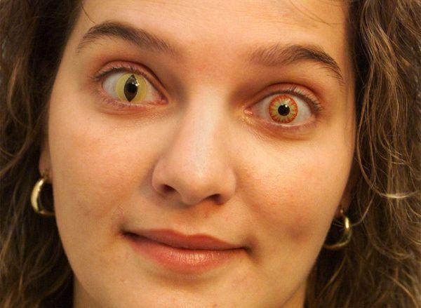 Prescription Colored Contacts Halloween