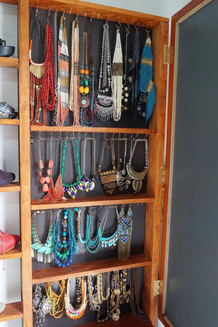 1000 ideas sobre colgar collares en pinterest for Ganchos para colgar en las puertas
