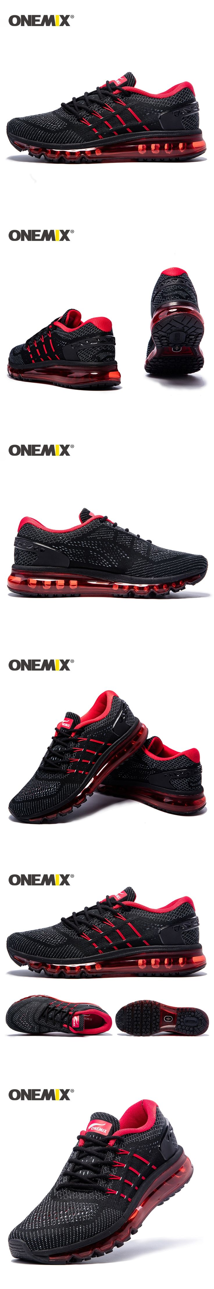 Onemix 2017 new men running shoes breathable mesh sport shoes for men new athletic outdoor sneakers zapatos de hombre EUR39-46