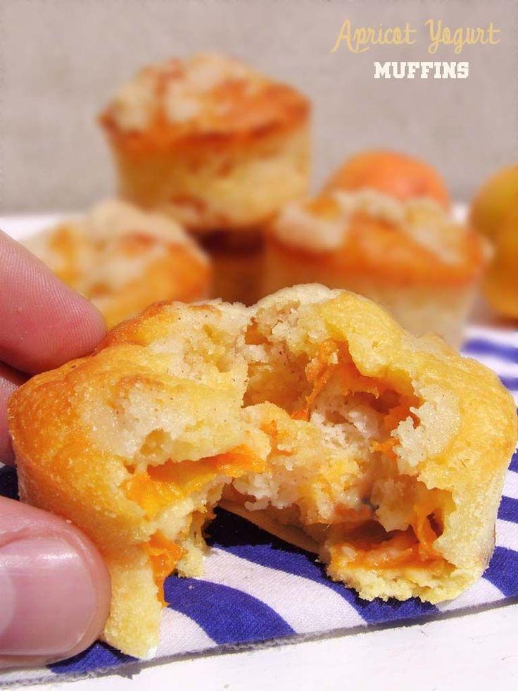 Apricot Yogurt Muffins Recipe