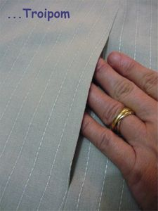 how to add a pocket to the side seam of pants or a skirt