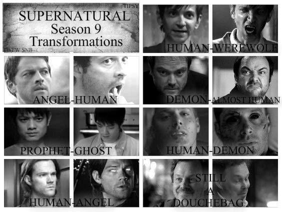 Season 9  Supernatural...