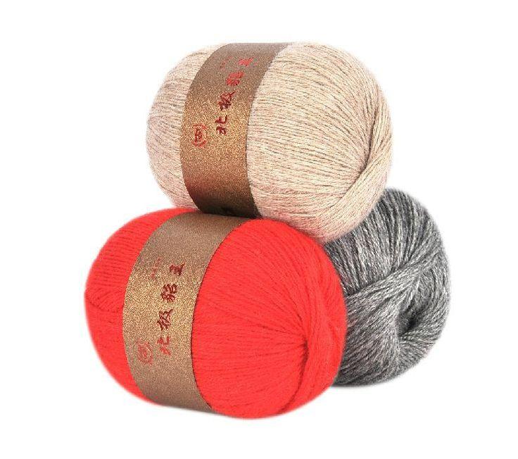 Автор пряжа кашемир норки шерстяной пряжи для вязания 16 s / 3 крючком кашемир пряжа 20 balls 1 кг небольшой оптовая продажа