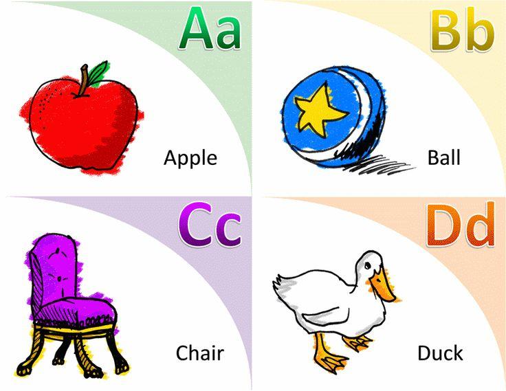Alphabet and vocabulary flash cards - Templates - Office.com