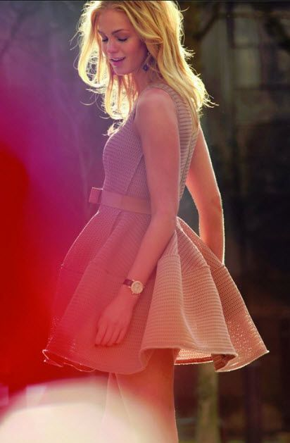 Erin Heatherton is the face of Chopard's Happy Sport Automatic watch