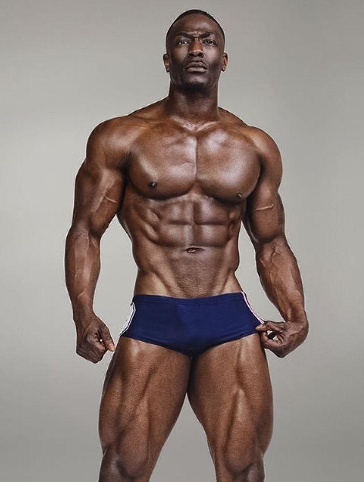 Black muscle men sex