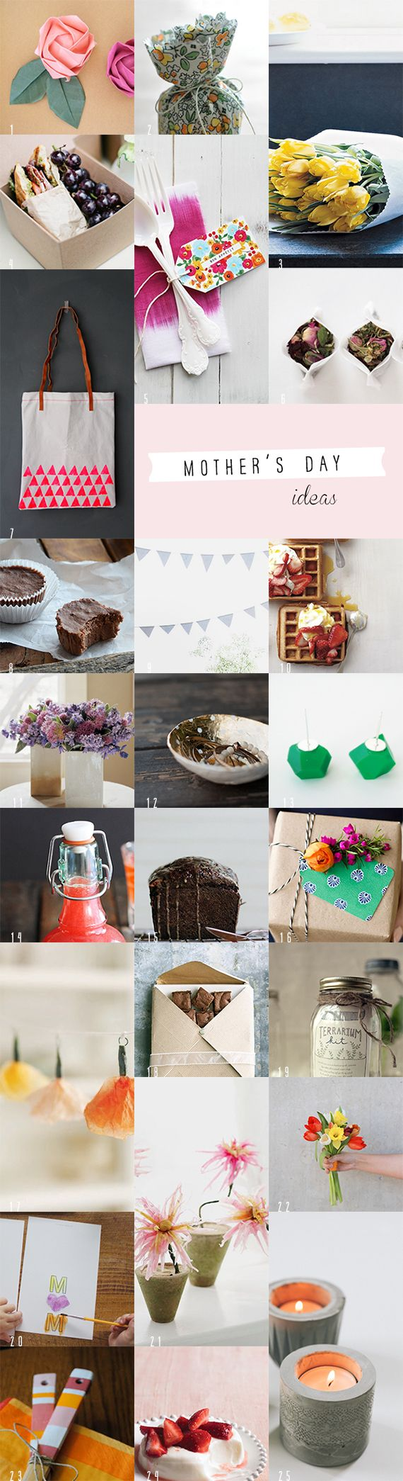 25 Homemade Mothers Day Ideas
