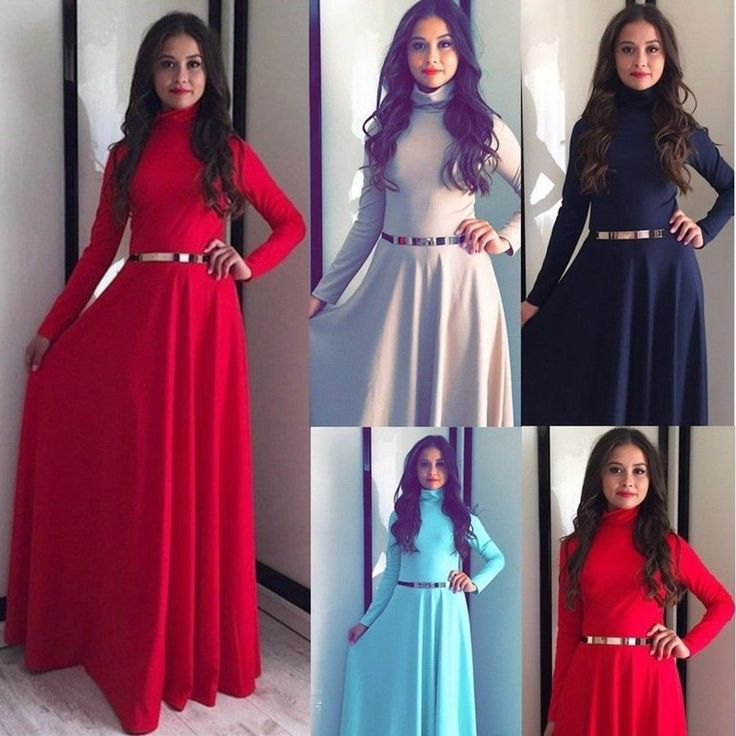 Kaftan Abaya Islamic Muslim Party Evening Women Long Sleeve Vintage Dress Lot  | eBay