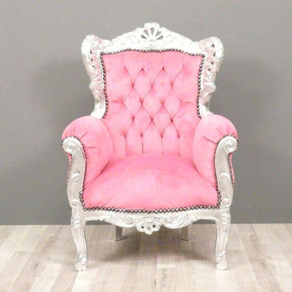 Les 25 meilleures id es concernant fauteuil rose sur pinterest fauteuil des - Fauteuil rose fushia ...