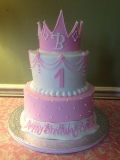 First Birthday Cakes For Girls