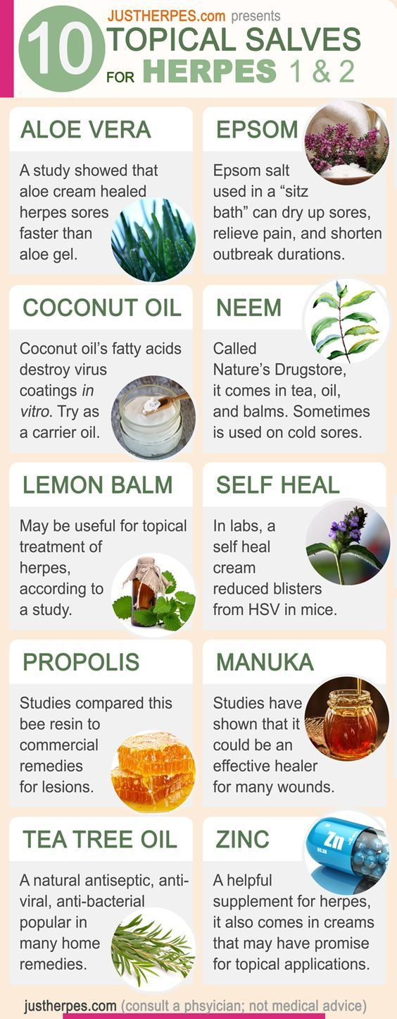 20 Topical Herpes Treatments: Natural Creams, Salves & Ointments