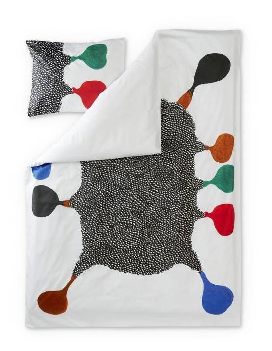Emo Sateen Duvet Cover Set