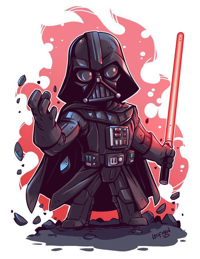 Chibi Star Wars Characters by Derek Laufman