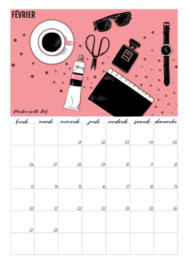 25 best ideas about calendrier 2017 gratuit on pinterest for Calendrier mural gratuit