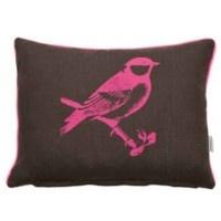 Au Maison Linnenkussen roze vogelprint 34,95