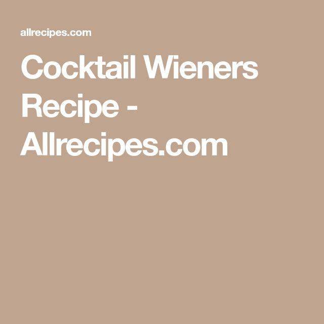 Cocktail Wieners Recipe - Allrecipes.com