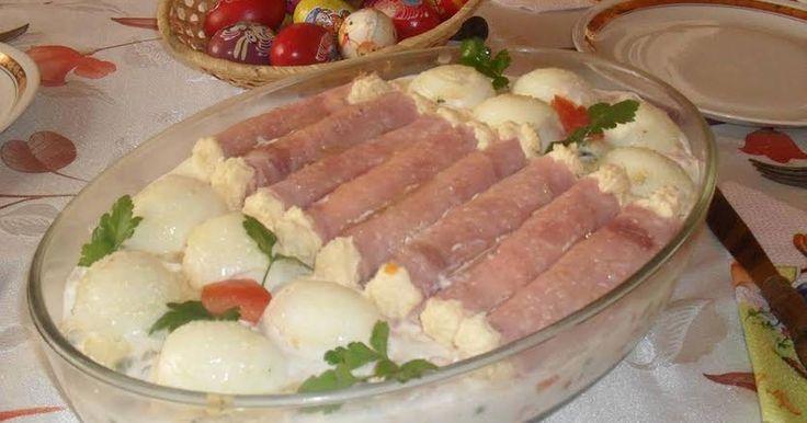 Mennyei Tormakrémes sonkatekercs recept! Húsvétra igazi vendégváró.