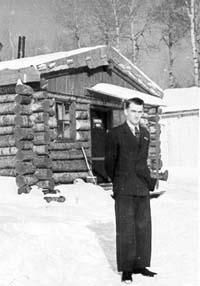 Camp en bois rond, évolution de la maison québécoise en fonction du climat.
