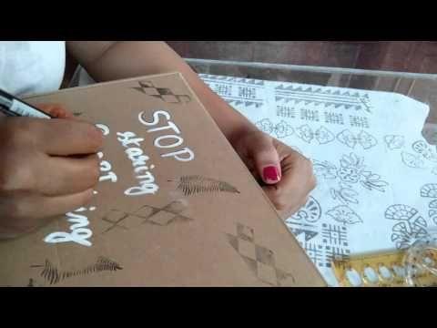 Timelapse brush lettering - YouTube https://artaurabynagashree.wordpress.com/ #brushlettering #watercolor #leterring