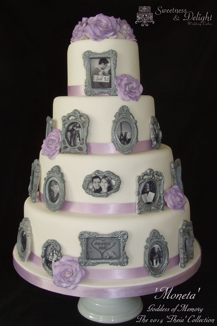 Cake With Photo Frame : 51 best images about photo frame cakes on Pinterest ...