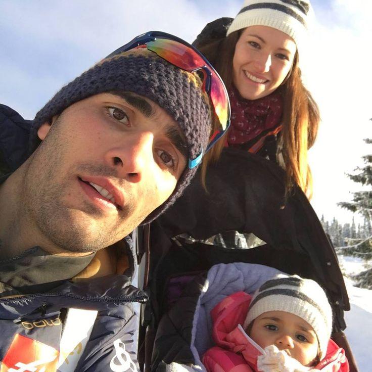 Martin Fourcade et sa famille (Manon)