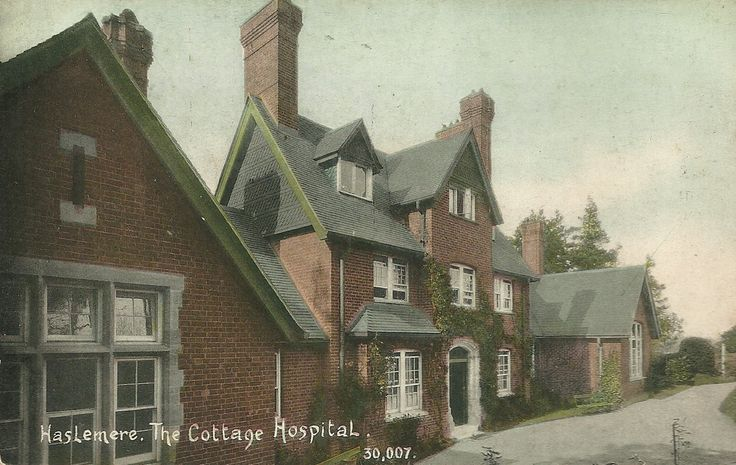 Haslemerethe cottage hospital with images old