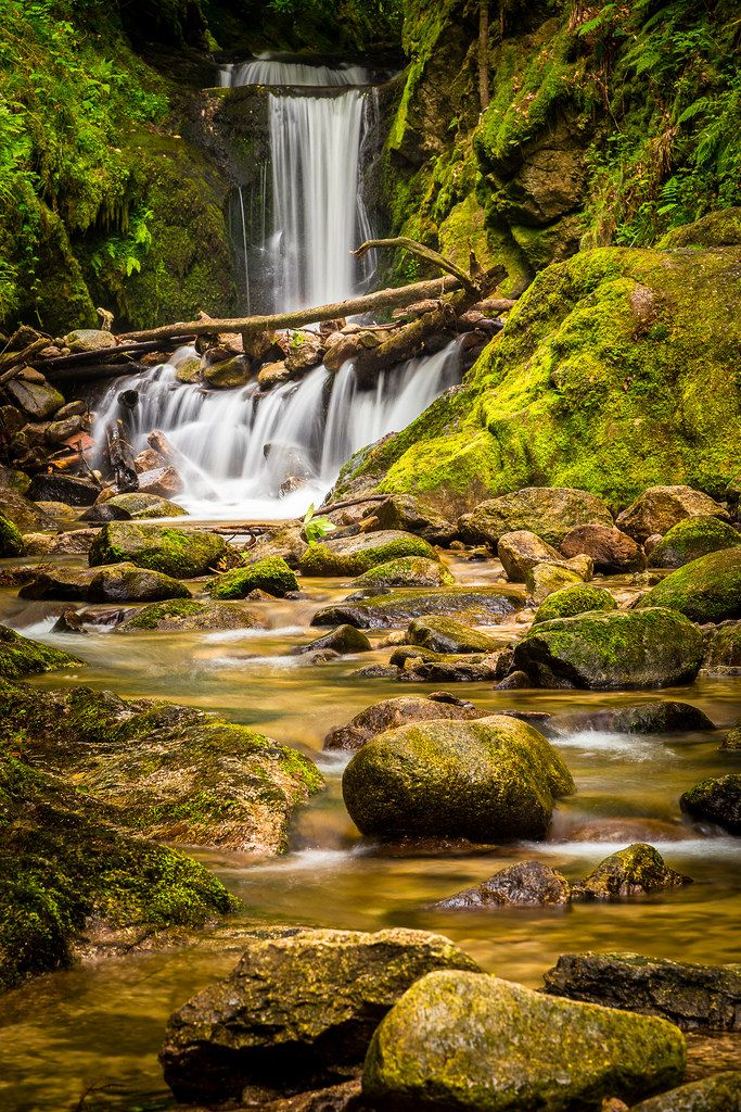 Geroldsauer Wasserfall - Baden-Baden - Germany