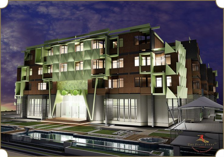 Acacia, Dubai - an artistic marvel with eco-colours, conceptualized and designed by #TheFirstFerry  #Architecture #Design #Luxury #Artistry