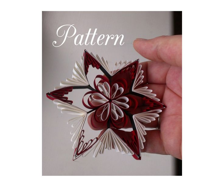 Quilling Pattern And Printable Template Qd8 Pdf