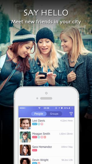"""Want to Know People near-by? Use """"Link"""" app, Rate it on appkush.com! #link #meet #friends #newapp"""