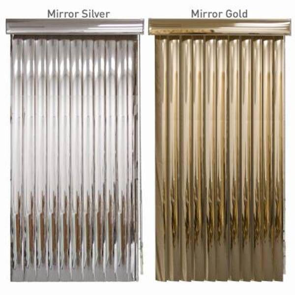 Blindden Mirror Vinyl Vertical Blinds Custom Sizes Reflective