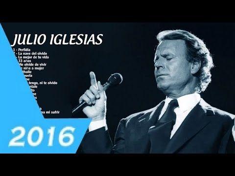Julio Iglesias sus mejores exitos 2016 Mix 2