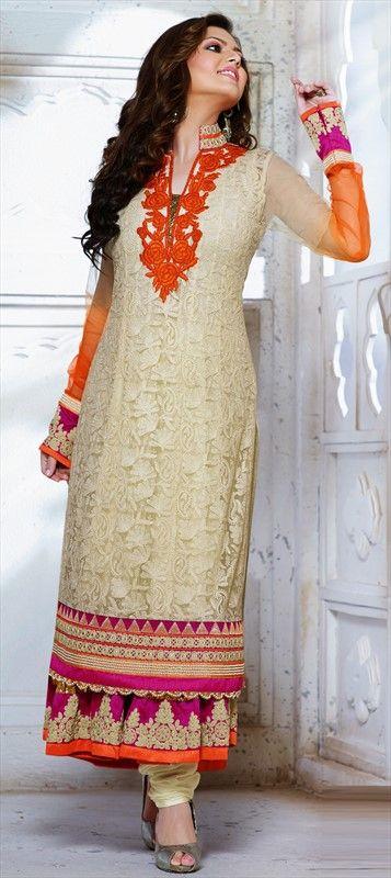 419309: #DrashtiDhami #Bollywood #IndianTelevision #salwarkameez #sale #floral #lace #embroidery #getthislook #designer #pastel #wedding #Partywear