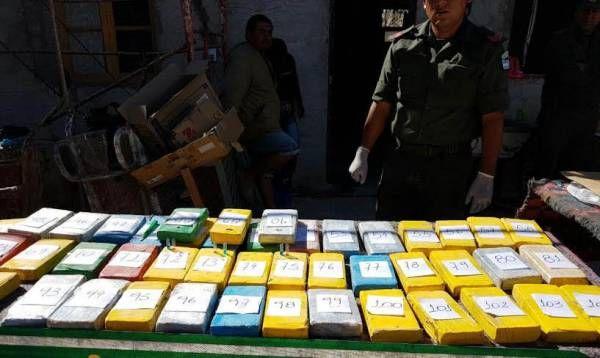 """Operativo """"Arco iris"""": se incautó 108 kilos de cocaína"""