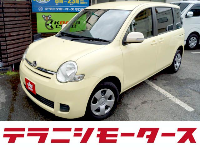 吉田目線からご紹介! TOYOTA シエンタ 1.5 X DVDナビ・CD・ETC・1オーナー (イエロー)   中古車 車買取 大阪で車探し車買取のテラニシモータース
