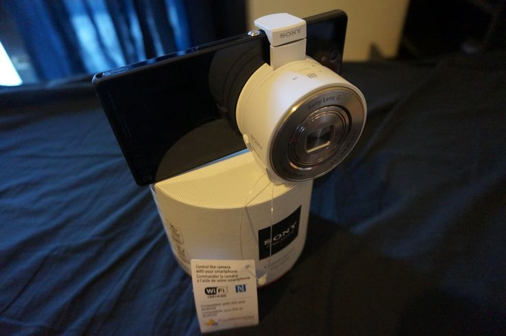 The perfect accessory to my #Xperia phone...The Qx-10! A 18 MP camera attachment! #Sony www.Sony.com/UMN