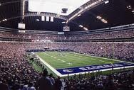 Old Dallas Cowboys Stadium - sooo many good memories there from days when I worked for the Cowboys and the many times I sat watching games as a fan in the stands or in a suite. The saying goes that the hole was designed in the roof 'so God could watch His team!'