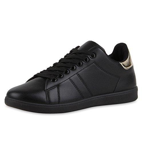 Oferta: 17.9€. Comprar Ofertas de best-boots Zapatillas planas de tobillo bajo para mujer, diseño retro, color negro, talla 37 EU barato. ¡Mira las ofertas!