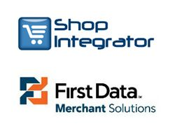 ShopIntegrator's shopping cart checkout now connects to First Data Merchant Solutions card acceptance services.