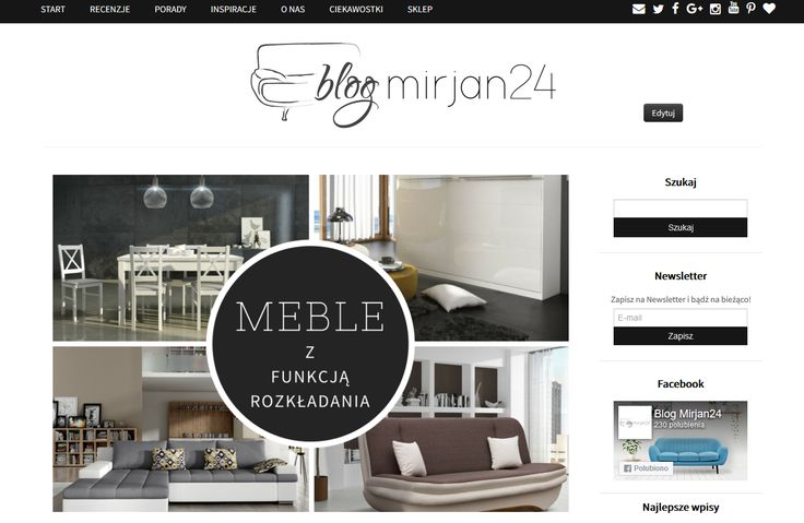 Keep up to date with fresh information from the world by Blog Mirjan24.  Bądź na bieżąco ze świeżymi informacjami ze świata.  #mirjan24 #blogmirjan24 #info #infofromtheworld #funitures #technology #home