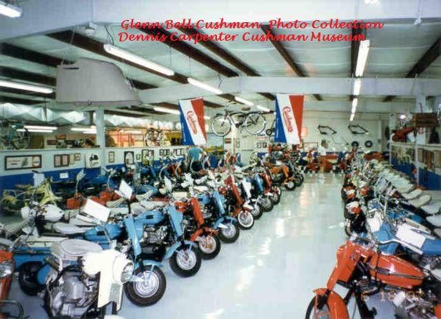 Dennis Carpenter Cushman Museum | Bike, Motorcycle, Chopper