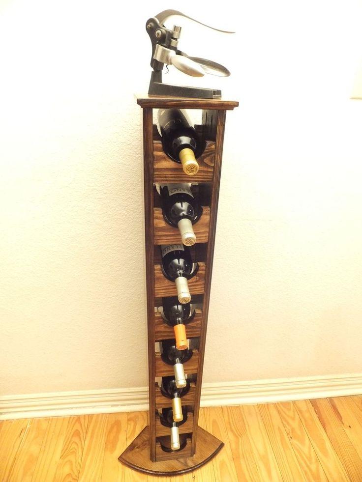 1000 ideas about tall wine rack on pinterest wine rack plans wine racks and home wine cellars - Tall corner wine rack ...