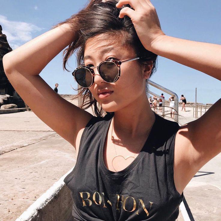 Cathy Yin x bon label @_cathyyin #bongirl