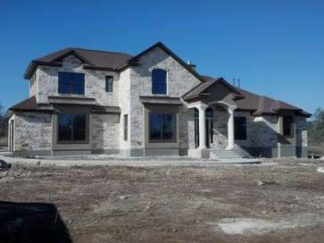 69 best images about kurk homes exteriors on pinterest for Texas hill country stone homes
