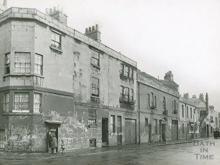 Corn Street, north side. From Peter Street corner, c.1930s