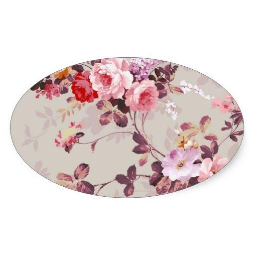Vintage leuke girly kleurrijke rozerode paarse en witte rozen. Een elegant bloemenontwerp op blauwgroen bruine achtergrond. Het perfecte romantische giftidee voor haar bij om het even welke gelegenheid