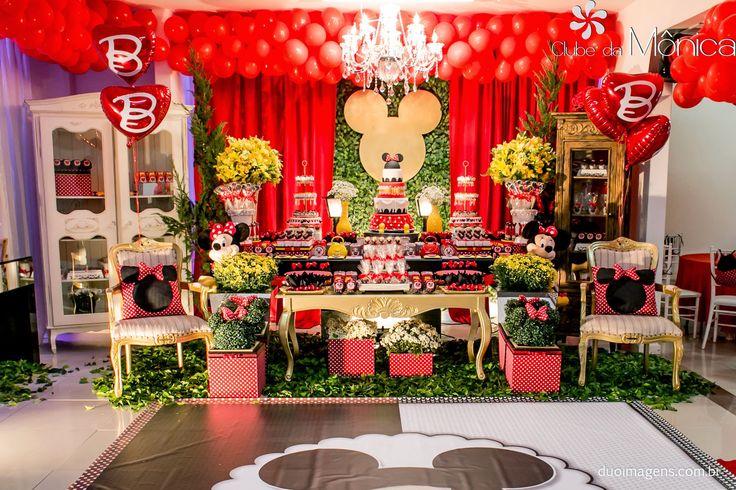 Encontrando Ideias: Festa da Minnie!!
