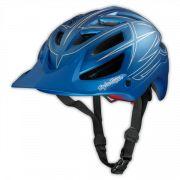 Photo of A1 Helmet Pinstripe Matte Blue