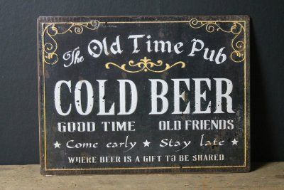 Pub sign!