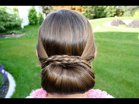 classy but easy to do hairstyles for super long hair.